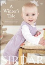 Sirdar Book 467 - A Winter's Tale - Snuggly Baby Bamboo DK
